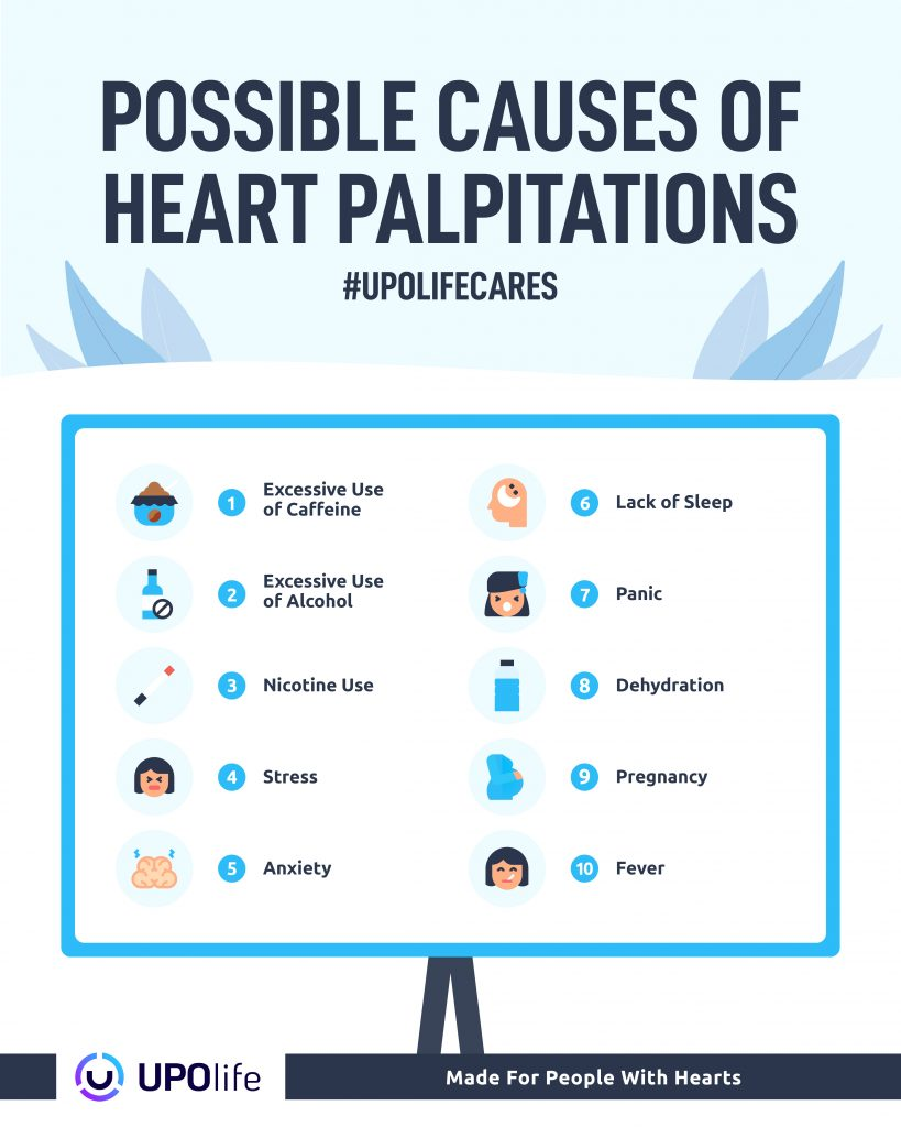 Causes of heart palpitations